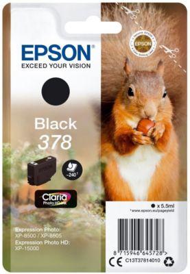 Cartouche d'encre Epson 378 Noir Série Ecureuil