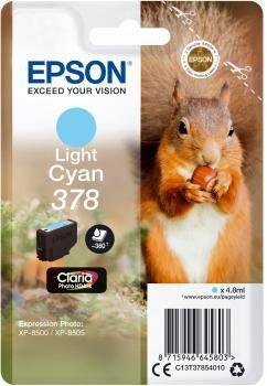 Cartouche d'encre Epson 378 Cyan clair Série Ecureuil