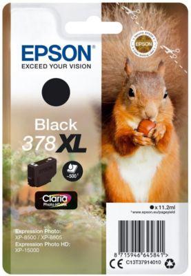 Cartouche d'encre Epson 378 Noir XL Série Ecureuil