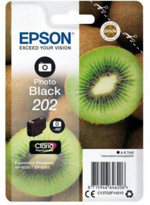 Cartouche d'encre Epson 202 Noir Photo Série Kiwi