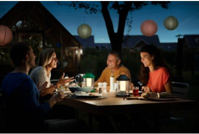 Lanterne PHILIPS portable ABELIA - Vert