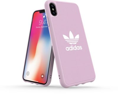 Coque adidas originals iphone xs max canvas fw18 rose