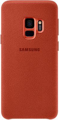 Coque Samsung S9 Alcantara Rouge