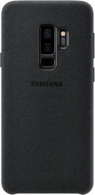 Coque Samsung s9+ alcantara noir