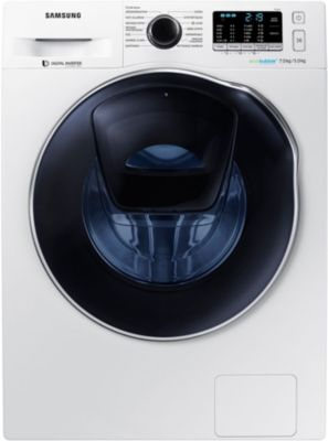 Lave linge séchant hublot Samsung WD70K5B10OW