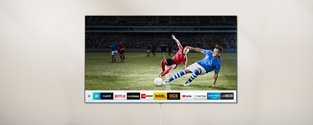 Applications Smart TV Samsung QLED
