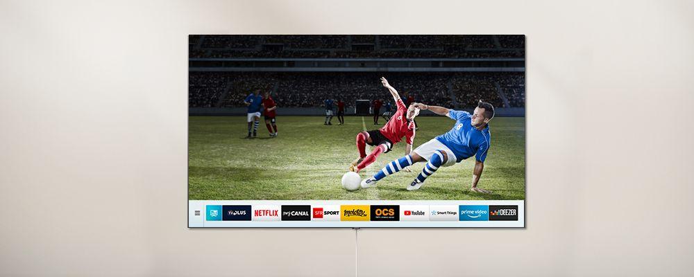 Applications Smart TV Samsung QLED