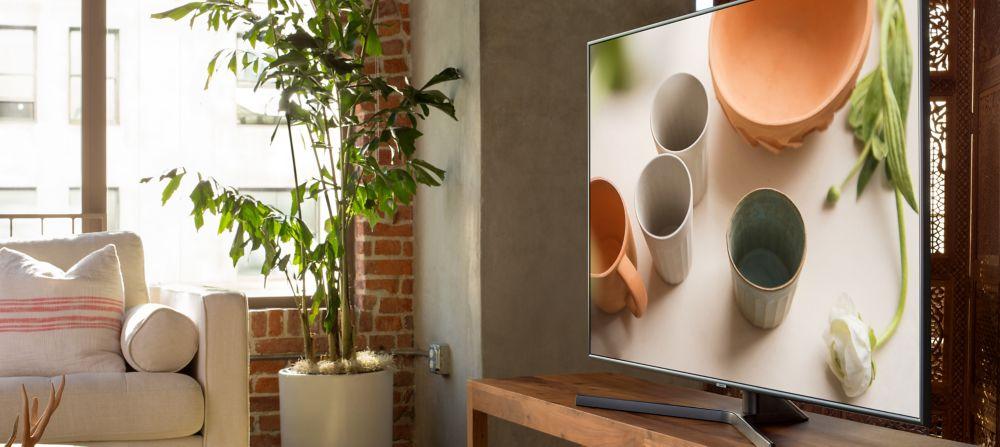 Design du TV Samsung 4K UHD