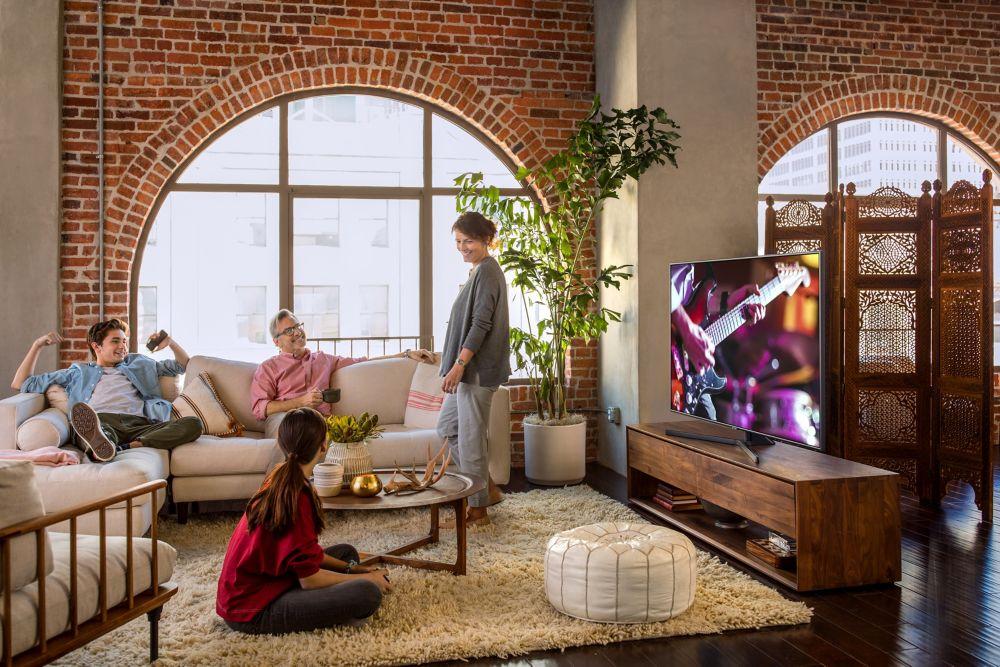 Application Smart TV Samsung UHD