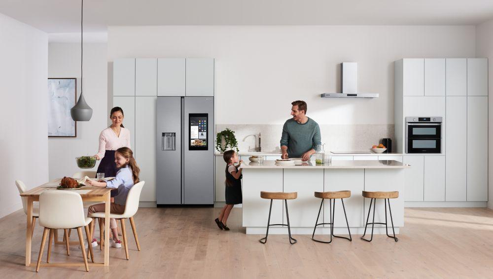 réfrigérateur connecté Samsung Family Hub