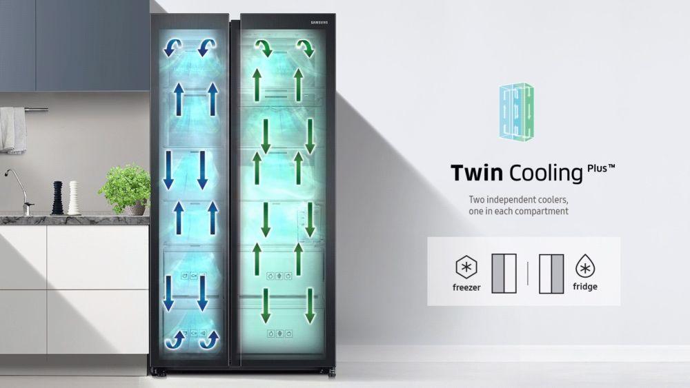 réfrigérateur connecté Samsung Family Hub cavité convertible