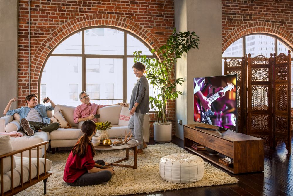 Application Smart TV Samsung 4K UHD