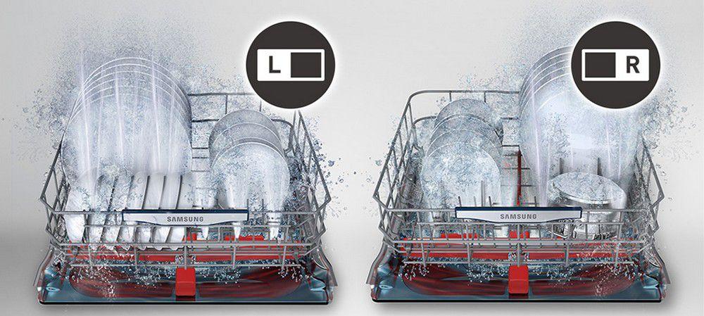Lave-vaisselle Samsung Waterwall