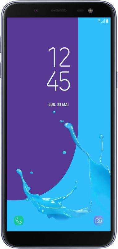 Smartphone Samsung Galaxy J6 Silver Blue