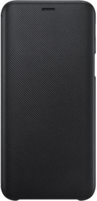 Etui Samsung J6 Flip Wallet Noir