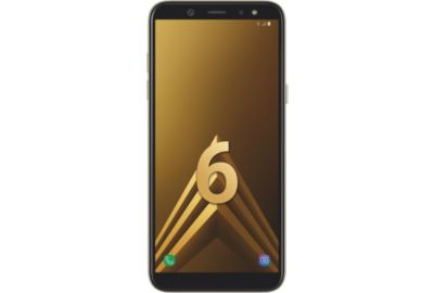 Smartphone SAMSUNG Galaxy A6 Gold