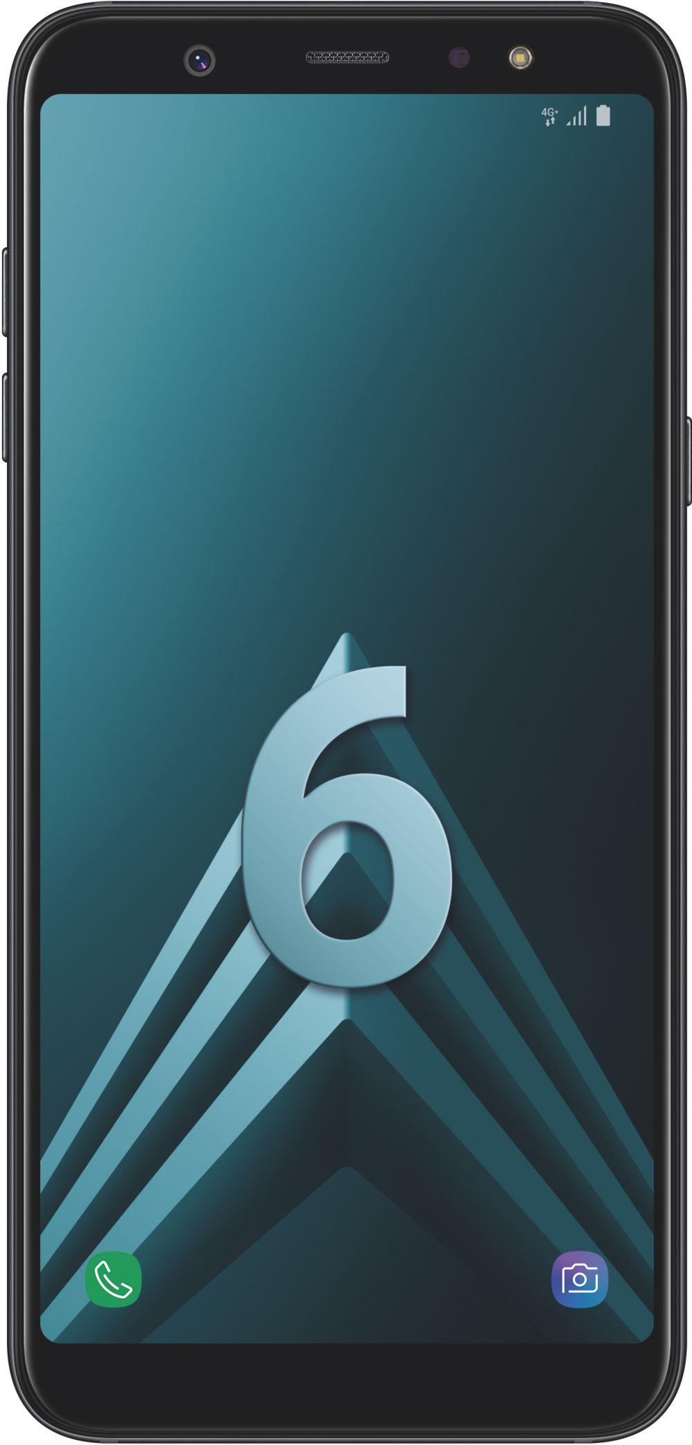 smartphone Samsung Galaxy A6+ Noir