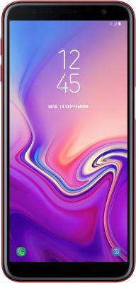 Smartphone Samsung Galaxy J6+ Rouge