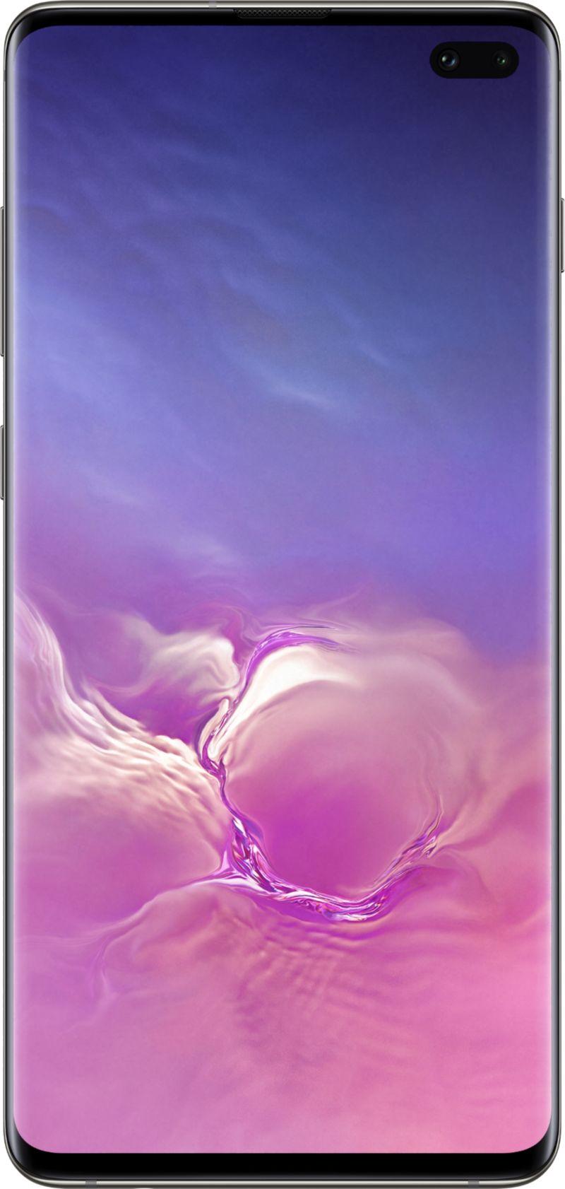 Samsung Galaxy S10+ noir