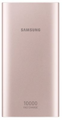 Batterie Externe samsung 10 000mah double port usb c rose gold