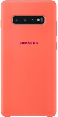 Coque Samsung S10+ Silicone ultra fine rose
