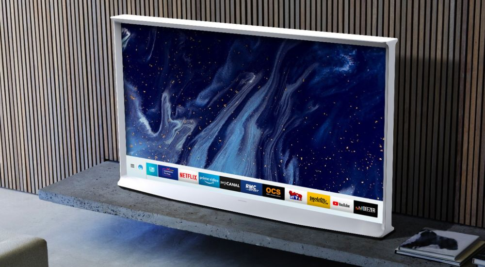 Mode Ambiant du TV Samsung The Serif