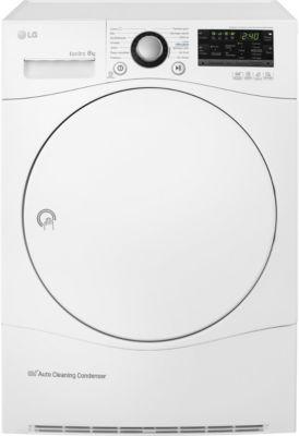 Sèche linge pompe à chaleur LG RP8050WH