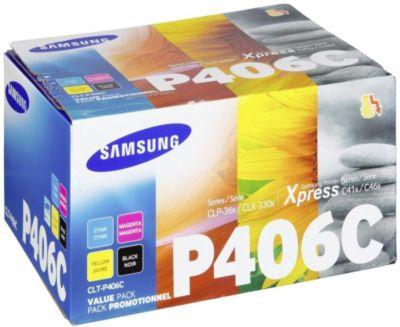 Cartouche d'encre Samsung CLT406P N/C/M/J