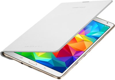 Etui tablette Samsung Simple Cover Tab S 8'' Blanc