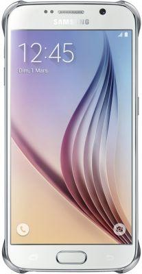 Coque Samsung Galaxy S6 transparente silver