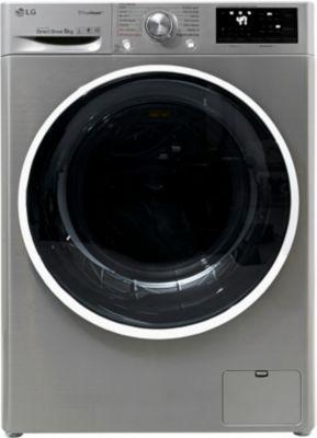 Lave linge connecté LG LG TURBOWASH EX F94J82STS Silver