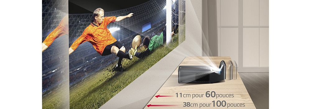 vidéprojecteur LG PF1000U Ultra courte focale
