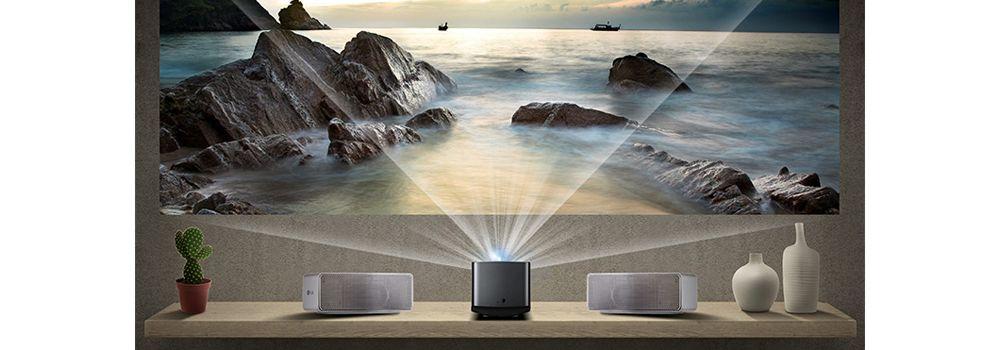 lg pf1000u ultra courte focale vid oprojecteur boulanger. Black Bedroom Furniture Sets. Home Design Ideas