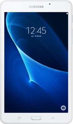 Tablette Android Samsung Galaxy Tab A6 7' Blanc