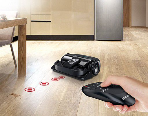 samsung sr20k9350wk power bot connecte reconditionn comme neuf aspirateur robot boulanger. Black Bedroom Furniture Sets. Home Design Ideas