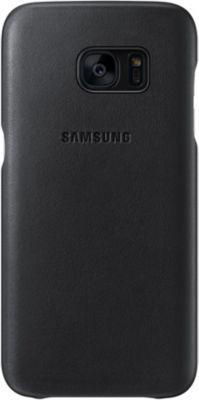 Coque Samsung Galaxy S7 cuir noir