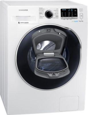 Lave linge séchant hublot Samsung ADD WASH WD70K5410OW/EF