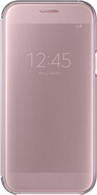Etui Samsung A5 2017 Clear View Cover rose