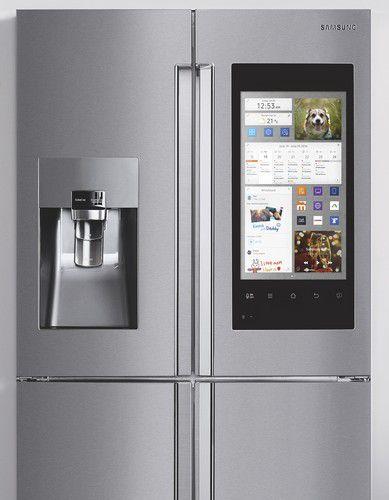 écran réfrigérateur connecté Samsung Family Hub