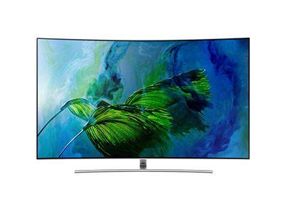 TV SAMSUNG QE75Q8C QLED INCURVE