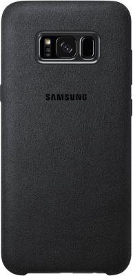 Coque Samsung s8+ alcantara gris