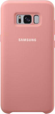 Coque Samsung s8+ silicone rose