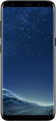 Smartphone Samsung Galaxy S8 Noir + Etui Essentielb S8 noir