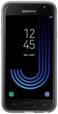 Coque Samsung J3 2017 noir souple