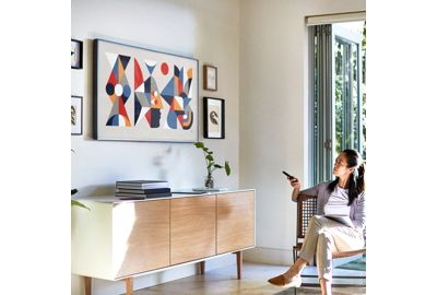 samsung the frame ue55ls003 t l viseur boulanger. Black Bedroom Furniture Sets. Home Design Ideas
