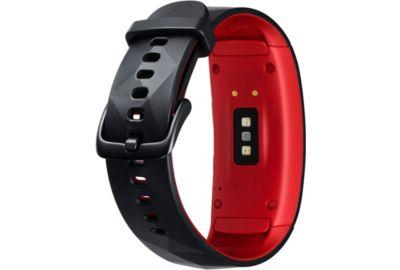 Montre SAMSUNG Gear Fit 2 Pro Noir/Rouge taille L