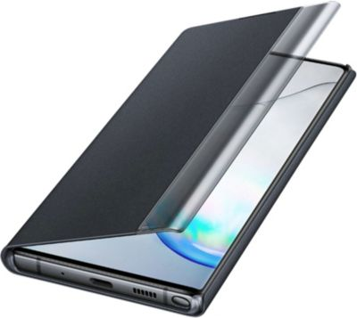 Etui Samsung Note 10+ Clear View Cover noir