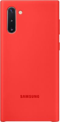 Coque Samsung Note 10 Silicone rouge