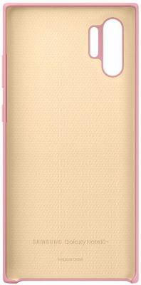 Coque Samsung Note 10+ Silicone rose