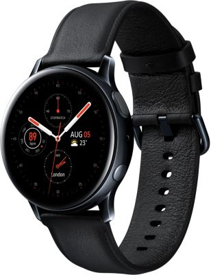 Montre connectée Samsung Galaxy Watch Active2 Noir Acier 40mm